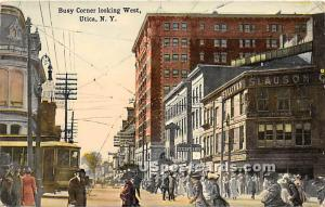 Utica, New York, NY Post Card Postcard Utica NY Unused