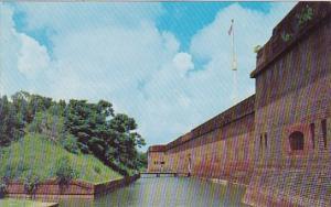 Georgia Savannah The Fort Pulasky Nationa Monument
