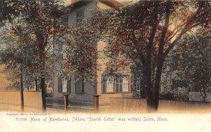 Home of Hawthorne in Salem, Massachusetts