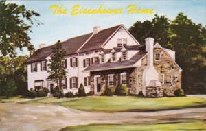 President Eisenhower's Home Gettysburg Pennsylvania