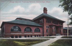 CAMBRIDGE, Massachusetts, 1900-1910's; Ringe Manuel Training School