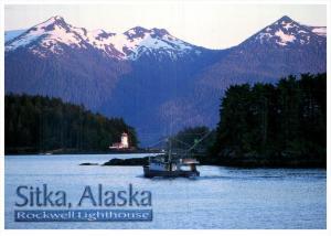 Alaska  Sitka Rockwell   Lighthouse