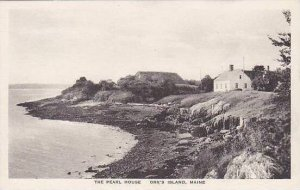 Maine Orrs Island The Pearl House Albertype