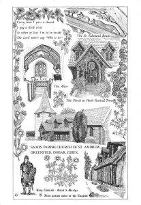uk48677 saxon parish church of st andrew greensted ongar essex uk
