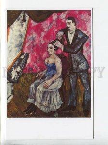 d3179168 Mikhail Larionov Ladies' Hairdresser modern postcard