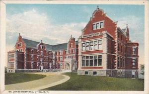 New York Utica Saint Lukes Hospital 1918