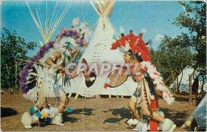 Postcard Modern Indian City USA Anadarko Near Okla