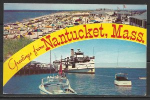 Massachusetts, Nantucket - Greetings From - [MA-015]