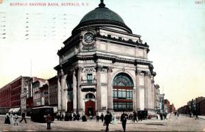 New York Buffalo The Buffalo Savings Bank 1910