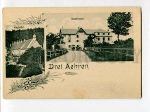 3102352 GERMANY Drei Aehren Kapelle Gasthaus Vintage PC