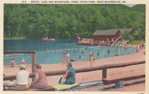 BLAIRSVILLE, Georgia, 1930-40s; Beach, Lake and Mountains, Vogel State Park