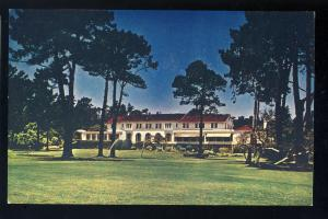 Pebble Beach, California/CA Postcard, Del Monte Lodge