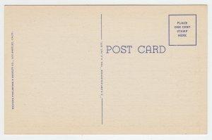 P2006, vintage postcard home of bing crosby north hollywood calif unused