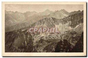 Postcard Old Tatry Widok Z Krzyznego