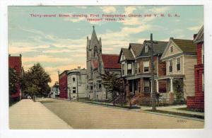 1119 VA Newport News  32nd Street First Presbyterian Church, Y.M.C.A.    1910
