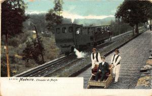 Portugal Madeira Elevador do Monte Postcard