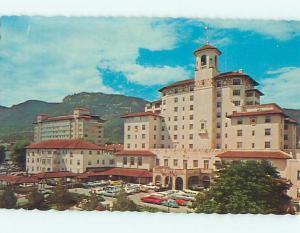 Unused Pre-1980 OLD CARS & BROADMOOR HOTEL Colorado Springs Colorado CO Q5480-12