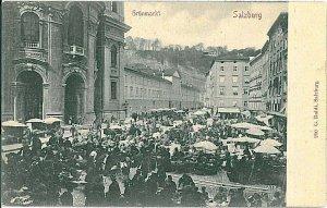 VINTAGE POSTCARD: AUSTRIA  -  SALZBURG