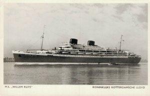 Koninklijke Rotterdamsche Lloyd M.S. Willem Ruys RPPC 06.10