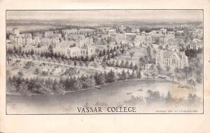 N.Y. New York City, Vassar College, Liberal arts college, Panorama