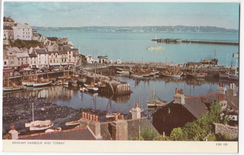 Devon; Brixham Harbour & Torbay PPC Unposted, By Jarrold ,1970's