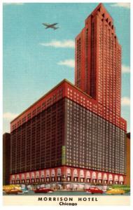 Illinois Chicago ,   the Morrison Hotel