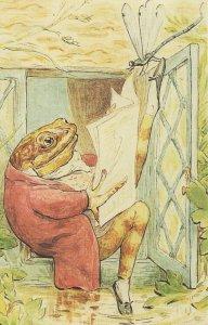 The Tale Of Jeremy Fisher House 1906 Beatrix Potter Book Postcard