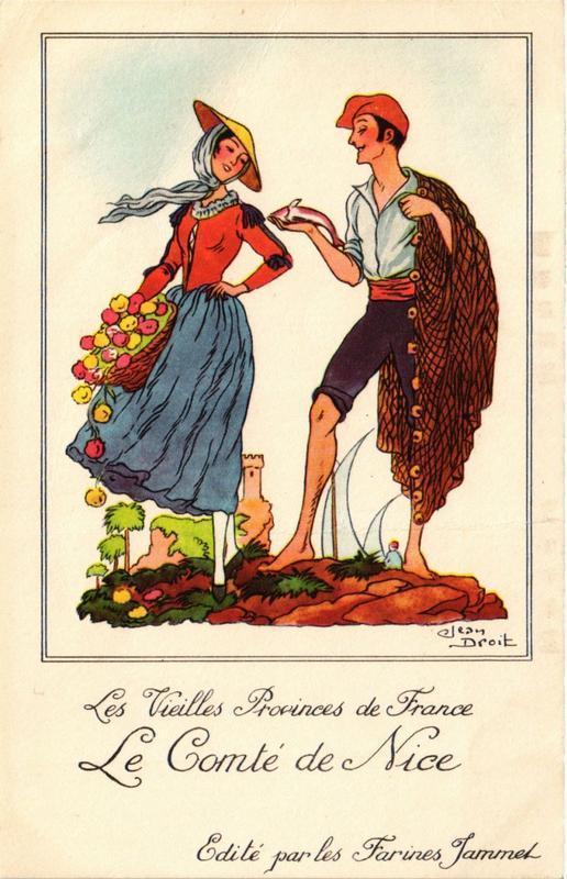 CPA Les Vieilles Provinces de France Le Comte de Nice FOLKLORE (731774)