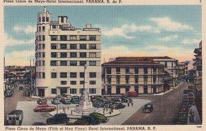 PANAMA, 1930-1940s; Plaza Cinco De Mayo Hotel International
