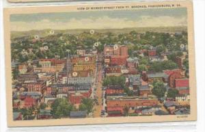View Of Market Street From Ft. Boreman, Parkersburg, West Virginia, 1930-1940s
