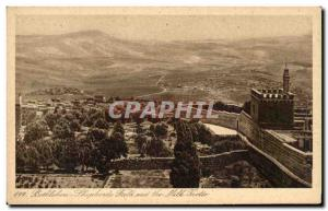 Old Postcard Bethlehem Fields Of Pastors And The Cave Of Milk
