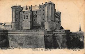 France Chateau de Saumur Castle Postcard
