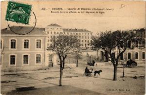 CPA AVIGNON Caserne de Chabran (Boulevard Limbert) Nouvelle Caserne (511540)