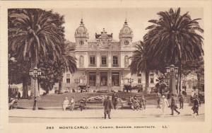 Monaco Monte Carlo Le Casino Garnier Architecte