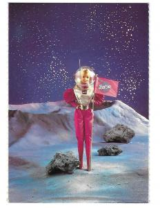 Astronaut Barbie Mattel 1986 Nostalgic Official Barbie Doll Card  4 by 6