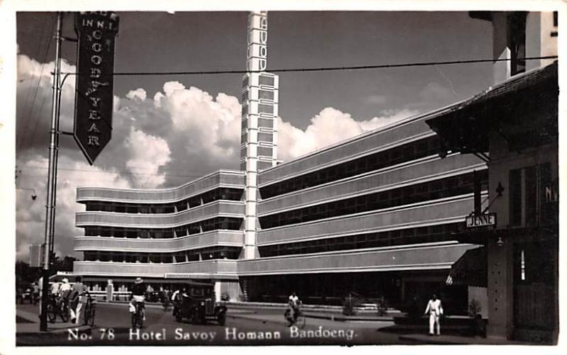 Bandoeng Indonesia, Republik Indonesia Hotel Savoy Homann Bandoeng Hotel Savo...