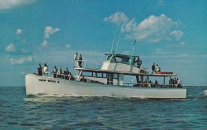 Charter Fising Boat SNOW WHITE II , Daytona Beach , Florida , 40-60s