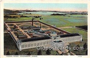 Federal Prison Leavenworth, Kansas USA Prison Unused
