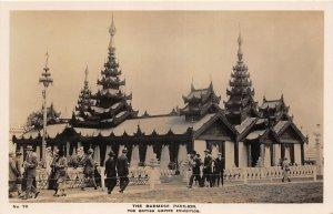 br106364 burmese pavilion british empire exhibition myanmar burma