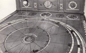 Interieur Planetarium te FRANEKER , Netherlands , 50-60s