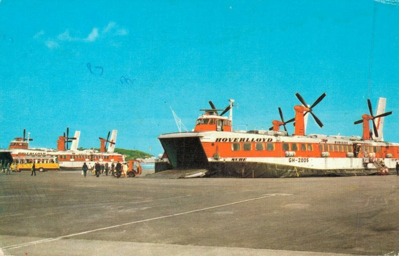 Ships Sailboat Hovercraft Postcards Lot of 10 RPPC and Printed     01.03
