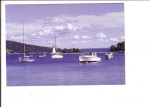 Sail Boats, Bras d'Or Lakes, Baddeck, Bay Cape Breton, Nova Scotia,