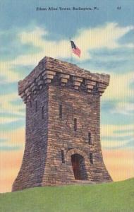 Vermont Burlington Ethan Allen Tower