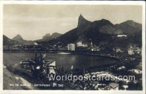 Real Photo Botafogo Rio De Janeiro Brazil Unused
