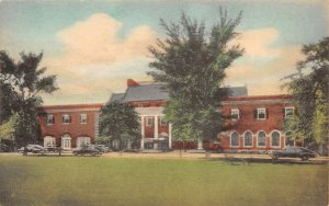 LPM30 Dearborn Inn  Greenfield Village Michigan Postcard Albertype hand colored