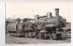 ry1183 - Czechoslavakian Railway Engine no 434.2191 - postcard