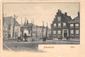 Naaldwijk South Holland~Public Square~Plein~Shovels & Tools~Men Digging~1905 PC