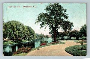Paterson NJ-New Jersey, West Side Park, Vintage Postcard