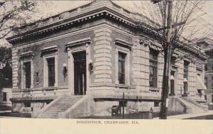 Illinois Champaign Postoffice
