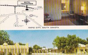 South Dakota Rapid City Tradewinds Motel